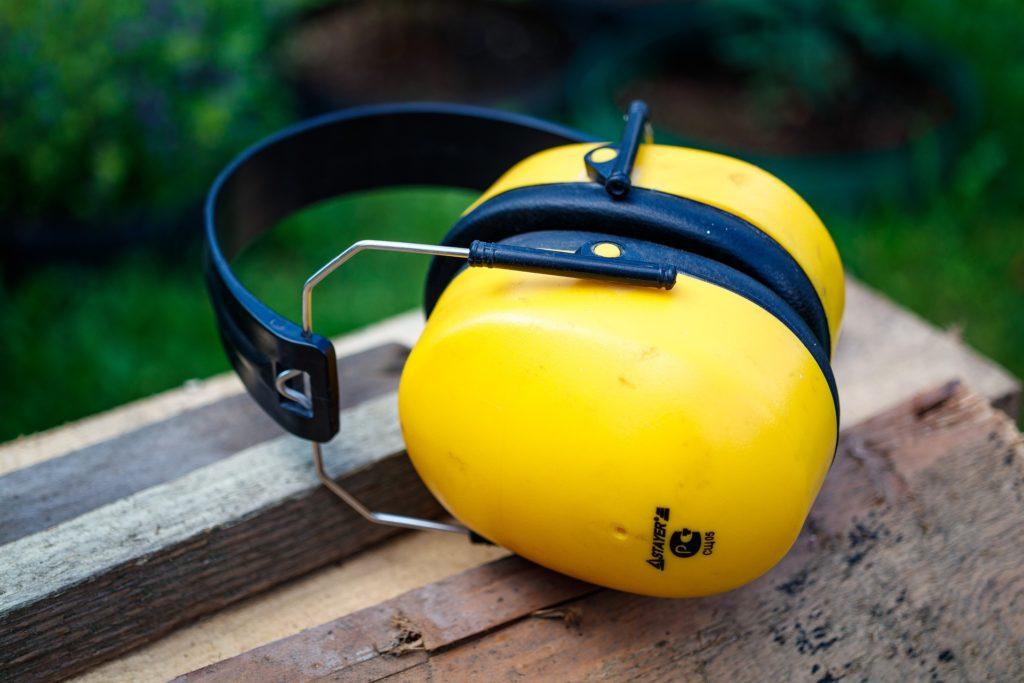 equipamento de proteção individual tampão para os ouvidos