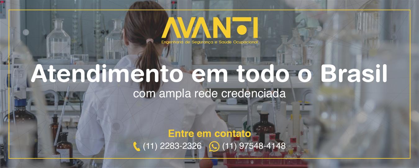 Atendimento em todo o Brasil com ampla rede credenciada